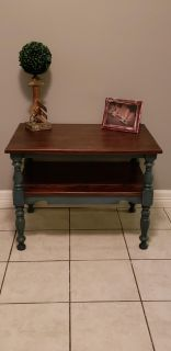 Distressed coffee table/ side table