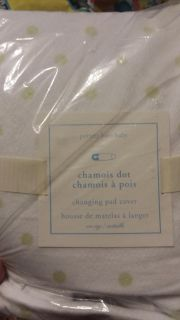 Pottry barn changing pad cover NEW