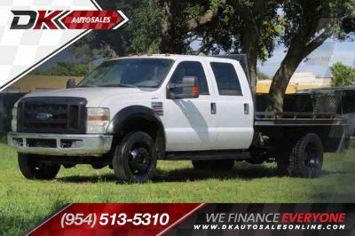 Used 2009 Ford F550 Super Duty Crew Cab & Chassis for sale