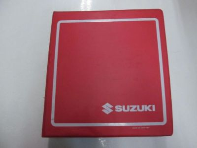 Buy 2002 03 04 2005 Suzuki DR-Z250 Service Manual BINDER WORN STAINED FACTORY OEM*** motorcycle in Sterling Heights, Michigan, United States, for US $59.95