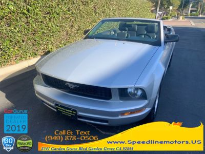 2008 Ford Mustang V6 Deluxe (Silver Metallic)