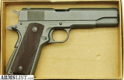For Sale: Remington Rand 1911A1 .45 ACP 1945 US Army