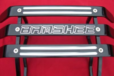 Find YAMAHA BANSHEE MADE IN USA NICE BILLET ATV 3BAR FRONT BUMPER BLACK motorcycle in Anaheim, California, United States, for US $170.00