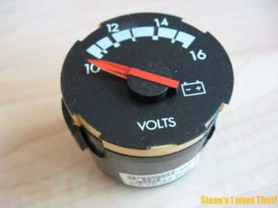Find Freightliner Century Columbia Voltmeter Gauge 22-46509-000 2246509000 #M261HG motorcycle in Flushing, Michigan, United States, for US $17.95