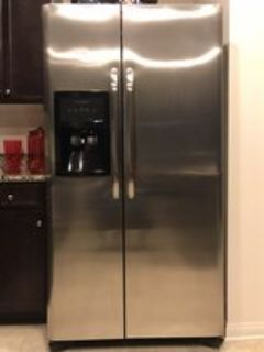26 cu ft Stainless Steel Frigidaire Side by Side Refrigerator