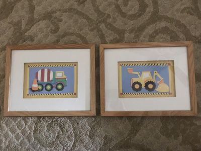 Framed Construction Pictures