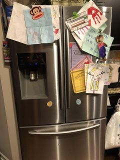 Samsung 25cu ft French door with freezer on bottom