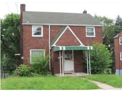 3 Bed 1.5 Bath Foreclosure Property in Pittsburgh, PA 15226 - Jacob St