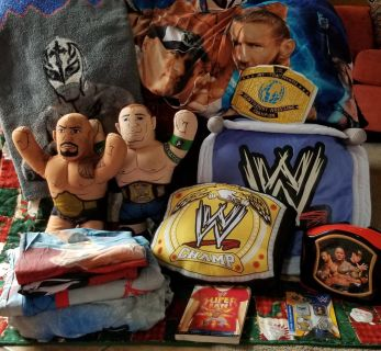 WWE Bedding set with accessoties