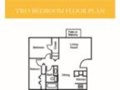 Sycamore Woods Apartment Homes - Floorplan A - Maple