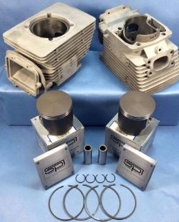 Sell SET-E SKIDOO 550 AIR COOLED CYLINDERS AND PISTONS MXZ SUMMIT FREESTYLE SKANDIC motorcycle in Springville, Utah, United States, for US $399.99