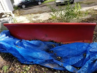 Weston 9ft plow with attachments