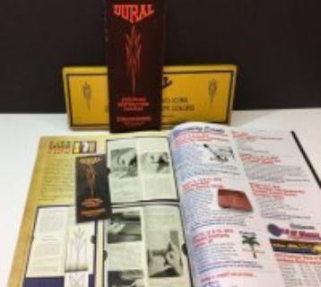 1932 MACK Pinstriping Brush Kit (ebay)