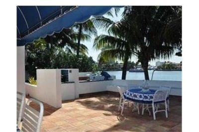 Short term furnished rental with boat dock available through.