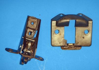 Find 1953-54 Chevrolet Bel Air OEM Trunk Latch Lock Assembly w/Cover Plate motorcycle in Palatine, Illinois, United States, for US $39.95