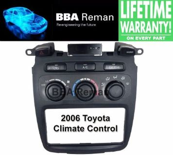 Sell 2006 Toyota Heater Climate Control Repair Service AC Heater Head 06 Highlander motorcycle in Taunton, Massachusetts, United States