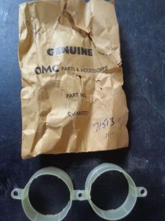 Find NEW OEM OMC Johnson Evinrude Horn Mounting Bracket 206701 (1 PAIR) motorcycle in Seminole, Florida, United States, for US $9.99