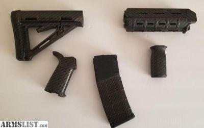 For Sale: Magpul carbon fiber AR15 kit