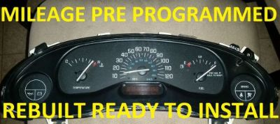Find REBUILT 1999-2005 BUICK CENTURY INSTRUMENT CLUSTER MILEAGE PROGRAMMED WITH DIC motorcycle in Louisville, Kentucky, United States, for US $175.00