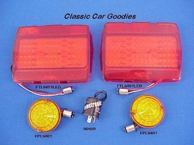 Buy 1964-1966 Ford Mustang Led Lights Kit. Park Tail Flasher 1965 motorcycle in Aurora, Colorado, US, for US $214.99