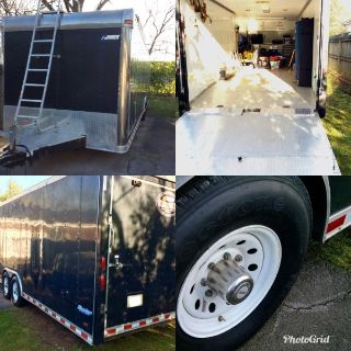 30ft Pace American enclosed race car trailer