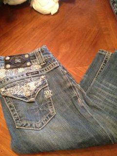 3 pair Miss me jeans size 27  28 fit the same