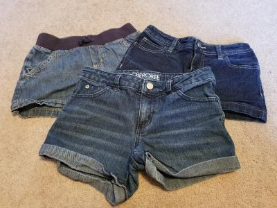 Size 7/8 and 8 Girl Jean Shorts $5 for all