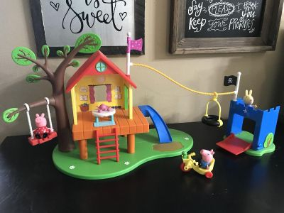 Peppa Pig - Treehouse and George s Fort