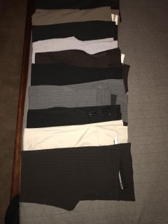 Express pants lot of 10 size 6R