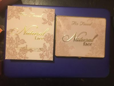 New- too faced natural face