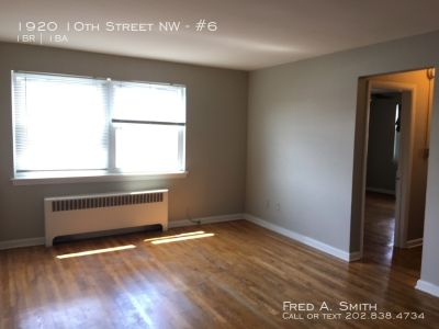 One Bedroom Apartment in Shaw available now!