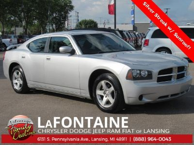 2010 Dodge Charger SE (Bright Silver Clearcoat Metallic)