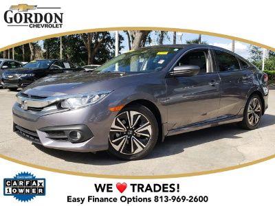 2016 Honda Civic 4DR CVT EX-T (Modern Steel Metallic)