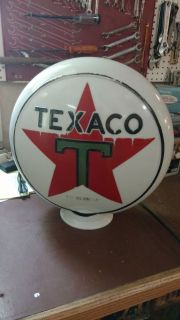 Texaco globe,essolene