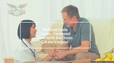3-Week Certified Home Health Aide Classes