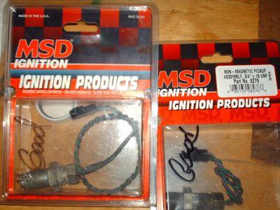 2- MSD crank trigger pick-up's