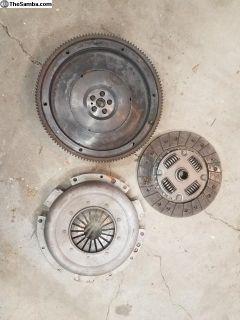 914 Flywheel, Pressure Plate and Clutch