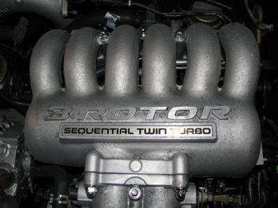 MAZDA COSMO RX7 EUNOS 20B TWIN TURBO 3 ROTOR ENGINE AUTO TRA