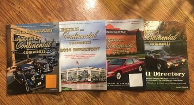 4 Lincoln Directory softcover
