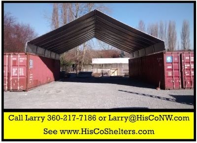 Cargo Shipping Container Cover Shelter