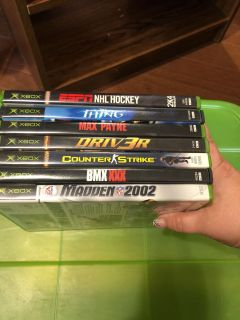 Xbox games (7 total)
