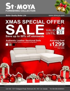 St.MOYA Furnishing Collection Sofa Products Christmas Special SALE