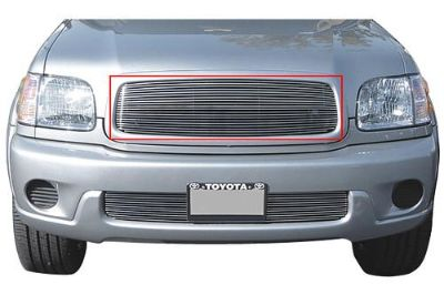 Purchase T-Rex 01-04 Toyota Sequoia Billet Grille Custom Aluminum Polished Grill 20900 motorcycle in Corona, California, US, for US $149.50