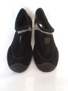 Men's Champion black and gray water shoes size 7/8 new without tags