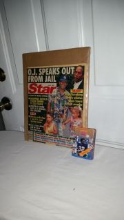 OK Simpson, Star Magizine 1994 and 50 card set facts and history of the trial..Both for $8