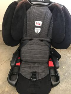 Britain pioneer 70 booster car seat. Used condition. Never in a wreck.