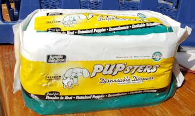PUP'STERS- Size XXS Dog Diapers