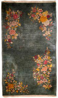 Handmade antique Art Deco Chinese rug, 1B620