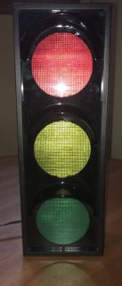 Traffic Signal Light Lamp for Wall or Table Top