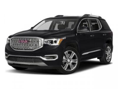 2017 GMC Acadia Denali CarFax 1-Owner (White Frost Tricoat)
